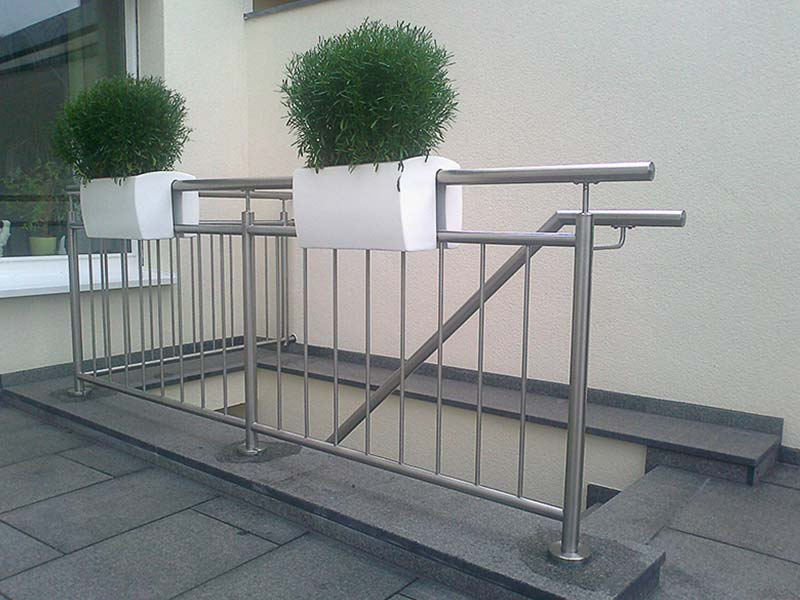 Metallbrüstung Treppe